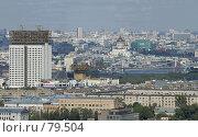 Купить «Панорама Москвы», фото № 79504, снято 19 августа 2018 г. (c) Юрий Синицын / Фотобанк Лори