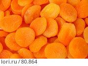 Купить «Фон из сушеных абрикосов (кураги)», фото № 80864, снято 11 февраля 2007 г. (c) Александр Паррус / Фотобанк Лори