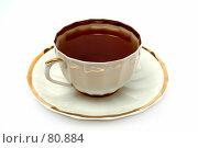 Купить «Чашка черного чая», фото № 80884, снято 7 января 2007 г. (c) Александр Паррус / Фотобанк Лори