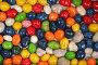 Фон из разноцветных глазированных конфет, фото № 81580, снято 2 января 2007 г. (c) Александр Паррус / Фотобанк Лори
