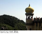 Купить «Башенка, дворец Пена», эксклюзивное фото № 81856, снято 16 августа 2018 г. (c) Михаил Карташов / Фотобанк Лори