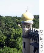 Купить «Угловая башня замка Пена», эксклюзивное фото № 81872, снято 17 августа 2018 г. (c) Михаил Карташов / Фотобанк Лори