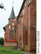 Купить «Стена и колокольня музея  «Кафедральный собор»», фото № 83544, снято 3 сентября 2007 г. (c) Parmenov Pavel / Фотобанк Лори