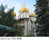 Купить «Московский Кремль. Успенский собор», фото № 83908, снято 21 июля 2006 г. (c) Бугаева Вероника Владимировна / Фотобанк Лори