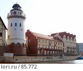 Купить «Современный уголок города, имитирующей старый Кёнигсберг», фото № 85772, снято 6 сентября 2007 г. (c) Parmenov Pavel / Фотобанк Лори