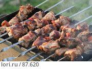 Купить «Шашлык», фото № 87620, снято 12 августа 2007 г. (c) Евгений Батраков / Фотобанк Лори