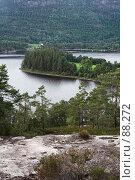 Купить «Озеро Seljord, Норвегия», фото № 88272, снято 10 июля 2006 г. (c) Михаил Лавренов / Фотобанк Лори