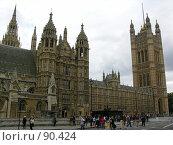 Купить «Парламент. Лондон. Великобритания», фото № 90424, снято 29 сентября 2007 г. (c) Екатерина Овсянникова / Фотобанк Лори