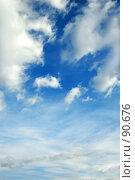 Купить «Небо», фото № 90676, снято 25 сентября 2007 г. (c) Валерия Потапова / Фотобанк Лори