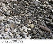 Купить «Камни на берегу», эксклюзивное фото № 90772, снято 3 августа 2007 г. (c) Михаил Карташов / Фотобанк Лори