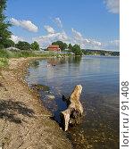 Купить «Бревно на берегу реки», фото № 91408, снято 14 июля 2007 г. (c) Квитченко Лев / Фотобанк Лори