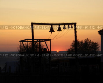 Купить «Вечерний звон», фото № 91412, снято 21 сентября 2006 г. (c) Квитченко Лев / Фотобанк Лори