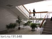 Рязанский государственный медицинский университет, на лестнице (2007 год). Редакционное фото, фотограф Поляков Денис / Фотобанк Лори