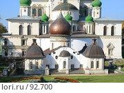 Купить «Вид на главный храм и церковь Константина и Елены монастыря Новый Иерусалим», фото № 92700, снято 19 сентября 2007 г. (c) Parmenov Pavel / Фотобанк Лори