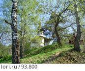 Старая усадьба, город Кинешма (2005 год). Стоковое фото, фотограф Баскаков Андрей / Фотобанк Лори