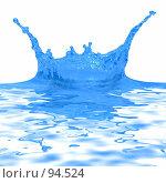 Купить «Голубая вода», фото № 94524, снято 14 июня 2007 г. (c) Андрей Армягов / Фотобанк Лори