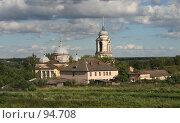 Купить «Старица. Вид на Борисоглебский собор.», фото № 94708, снято 15 июля 2007 г. (c) Екатерина Соловьева / Фотобанк Лори