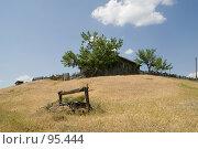 Подворье на холме в станице Еланской Ростовской области. Стоковое фото, фотограф Борис Панасюк / Фотобанк Лори