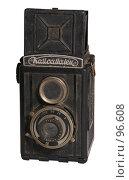 Купить «Советский фотоаппарат Комсомолец», фото № 96608, снято 11 октября 2007 г. (c) Владимир Власов / Фотобанк Лори