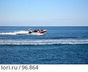 Купить «Катание на скоростном катере», фото № 96864, снято 16 сентября 2007 г. (c) Елена Руденко / Фотобанк Лори