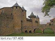 Замок Каркассонн, Франция, фото № 97408, снято 4 октября 2007 г. (c) GrayFox / Фотобанк Лори