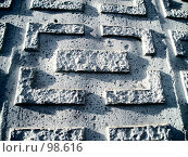 Рельеф на стене. Стоковое фото, фотограф Абарникова Ирина / Фотобанк Лори