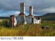 Купить «Разрушенное здание», фото № 98688, снято 8 сентября 2007 г. (c) Валерий Александрович / Фотобанк Лори