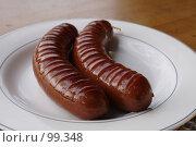 Купить «Колбаски», фото № 99348, снято 9 сентября 2007 г. (c) Asja Sirova / Фотобанк Лори