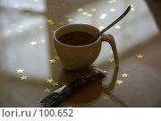Купить «Утренняя чашка кофе на стеклянном столе», фото № 100652, снято 17 февраля 2005 г. (c) Harry / Фотобанк Лори
