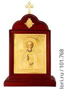 Купить «Икона», фото № 101768, снято 25 марта 2007 г. (c) Мирзоянц Андрей / Фотобанк Лори