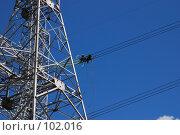 Купить «Монтаж вывода мощности ТЭЦ-26 500 киловольт», фото № 102016, снято 28 мая 2018 г. (c) Ярослав Паршин / Фотобанк Лори