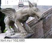Купить «Скульптура на лестнице Ливадийского дворца, Крым», фото № 102680, снято 21 февраля 2019 г. (c) Елена Руденко / Фотобанк Лори