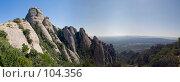 Купить «Испания, гора Монтсеррат», фото № 104356, снято 20 августа 2018 г. (c) Александр Соболев / Фотобанк Лори