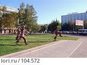 Купить «Площадь победы. Барнаул», фото № 104572, снято 23 января 2018 г. (c) Jan Jack Russo Media / Фотобанк Лори