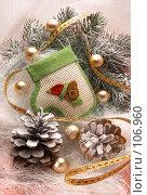 Купить «Новый год», фото № 106960, снято 15 мая 2005 г. (c) Николай Туркин / Фотобанк Лори