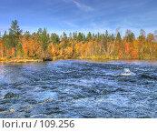 Купить «Осенняя река», фото № 109256, снято 19 марта 2019 г. (c) Мирзоянц Андрей / Фотобанк Лори