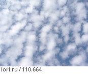 Купить «Маленькие кучевые облака», фото № 110664, снято 30 сентября 2007 г. (c) Анастасия Некрасова / Фотобанк Лори