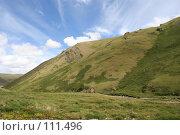 Купить «Алтай: река Бугузун, небо», фото № 111496, снято 26 июля 2006 г. (c) Александр Гершензон / Фотобанк Лори