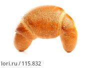 Купить «Сладкий рогалик с кунжутом», фото № 115832, снято 18 сентября 2007 г. (c) Александр Паррус / Фотобанк Лори