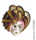 Купить «Венецианская маска», фото № 116564, снято 15 декабря 2005 г. (c) Losevsky Pavel / Фотобанк Лори