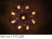 Купить «Потолочная люстра», фото № 117228, снято 27 октября 2007 г. (c) Арестов Андрей Павлович / Фотобанк Лори