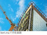 Купить «Подъемный кран», фото № 119608, снято 26 декабря 2006 г. (c) Сергей Старуш / Фотобанк Лори