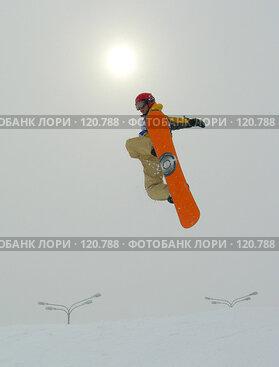 Купить «Сноубордист», фото № 120788, снято 19 марта 2005 г. (c) Losevsky Pavel / Фотобанк Лори