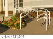 Купить «Подъезд жилого дома в Куркине», фото № 121544, снято 21 сентября 2007 г. (c) Петухов Геннадий / Фотобанк Лори