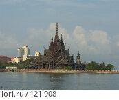 Купить «Таиланд.Деревянный храм», фото № 121908, снято 26 марта 2007 г. (c) Колчева Ольга / Фотобанк Лори