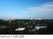 Купить «Одноэтажный Могилев в сотне метров от центра города», фото № 126320, снято 4 сентября 2007 г. (c) Виктор Пелих / Фотобанк Лори