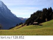 Купить «Альпы. Швейцария.», фото № 128852, снято 29 сентября 2006 г. (c) Николай Коржов / Фотобанк Лори