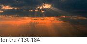 Купить «Лучи солнца на закате», фото № 130184, снято 18 мая 2005 г. (c) Serg Zastavkin / Фотобанк Лори