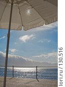 Море, солнце и зонтик. Стоковое фото, фотограф Влада Посадская / Фотобанк Лори