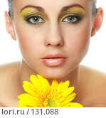 Купить «Портрет красивой девушки», фото № 131088, снято 22 июня 2018 г. (c) Серёга / Фотобанк Лори